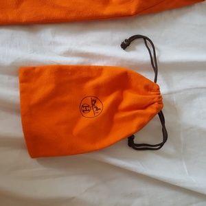Hermes Other - HERMES orange dust bag plus mini dust bag.